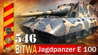 Jagdpanzer E 100 - bydlak w ataku! - BITWA - World of tanks