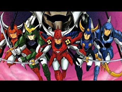 Anime review feature 2017 ronin warriors 1988 youtube - Ronin warriors warlords ...
