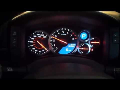 Nissan GT-R Revs, Exhaust sound and Blow Off