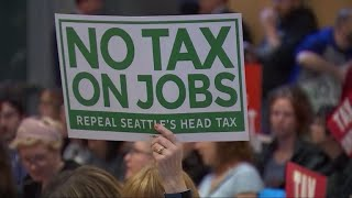 Controversy as Seattle repeals tax on big businesses