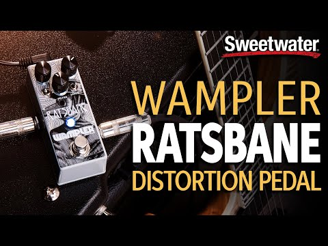 Wampler Ratsbane Distortion Pedal Demo with Special Guest Brian Wampler