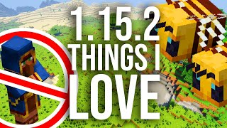 Things I LOVE in Minecraft 1.15.2 Update