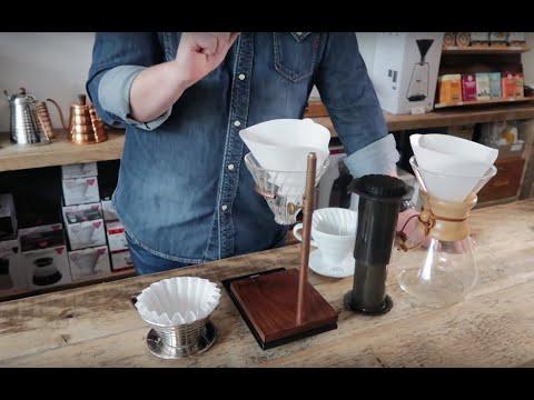 Kaffee mit Handfilter kochen: Hario, Chemex, Kalita & Aeropress im Vergleich