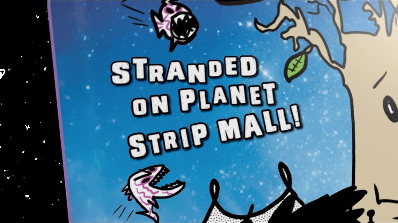ROCKET & GROOT: Stranded on Planet Strip Mall! - YouTube - photo#20
