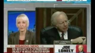 Maddow Guest Jane Hamsher Democrats Could Close Groton Sub Base to Punish Lieberman