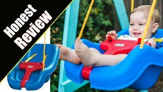 Honest Review Of Little Tikes 2 -in- 1 Snug 'n Secure Grow With Me Swing - Blue- Buy or NOT?