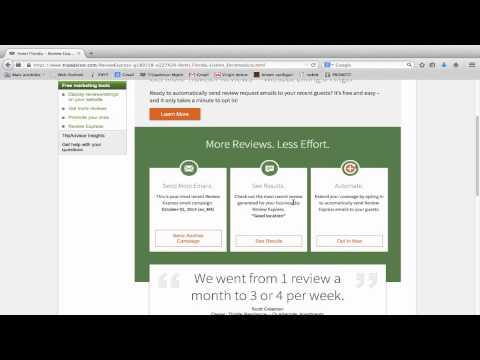 Increase online reviews on Tripadvisor