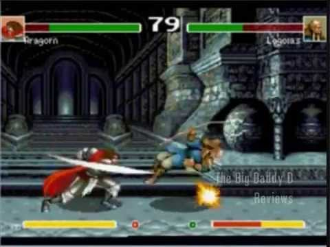 Bootleg Games Lord Of The Rings Fighting Game For Sega