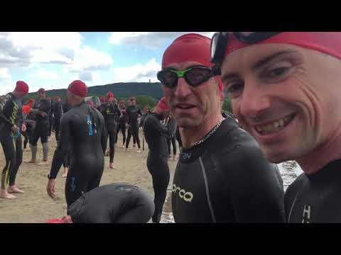 e4a13d654bb0 Triathlon de Belfort édition 2019 M à l'eau - YouTube