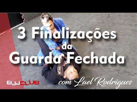 3 Finalizações da Guarda Fechada com Lael Rodrigues - Jiu Jitsu - BJJCLUB