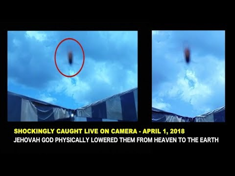 SHOCK AS  THE LORD GOD  FINALLY LOWERS  FROM HEAVEN  HIS TWO WITNESSES  OF REVELATION 11