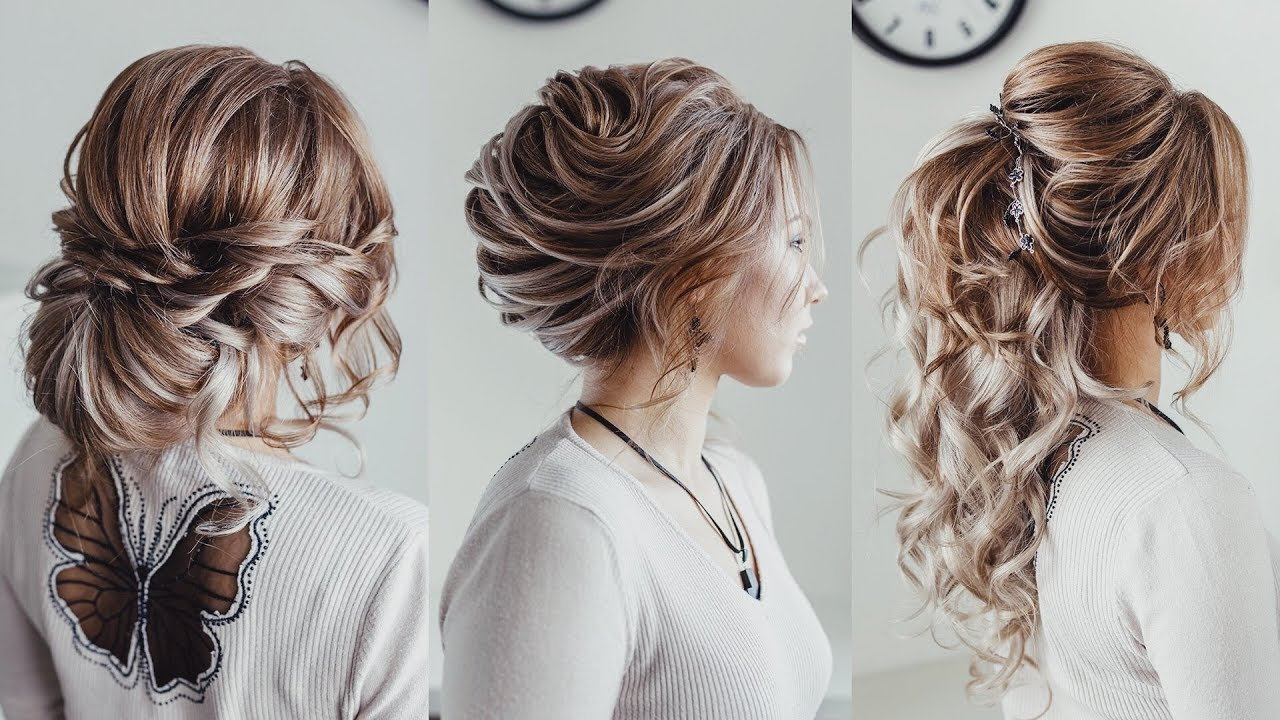 3 hairstyle ideas with extensions | loose bun french twist | curled ponytale kuklalu compilation