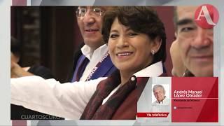 """""""Todo el que diga que va a meter a la cárcel a Peña está mintiendo"""": AMLO"""