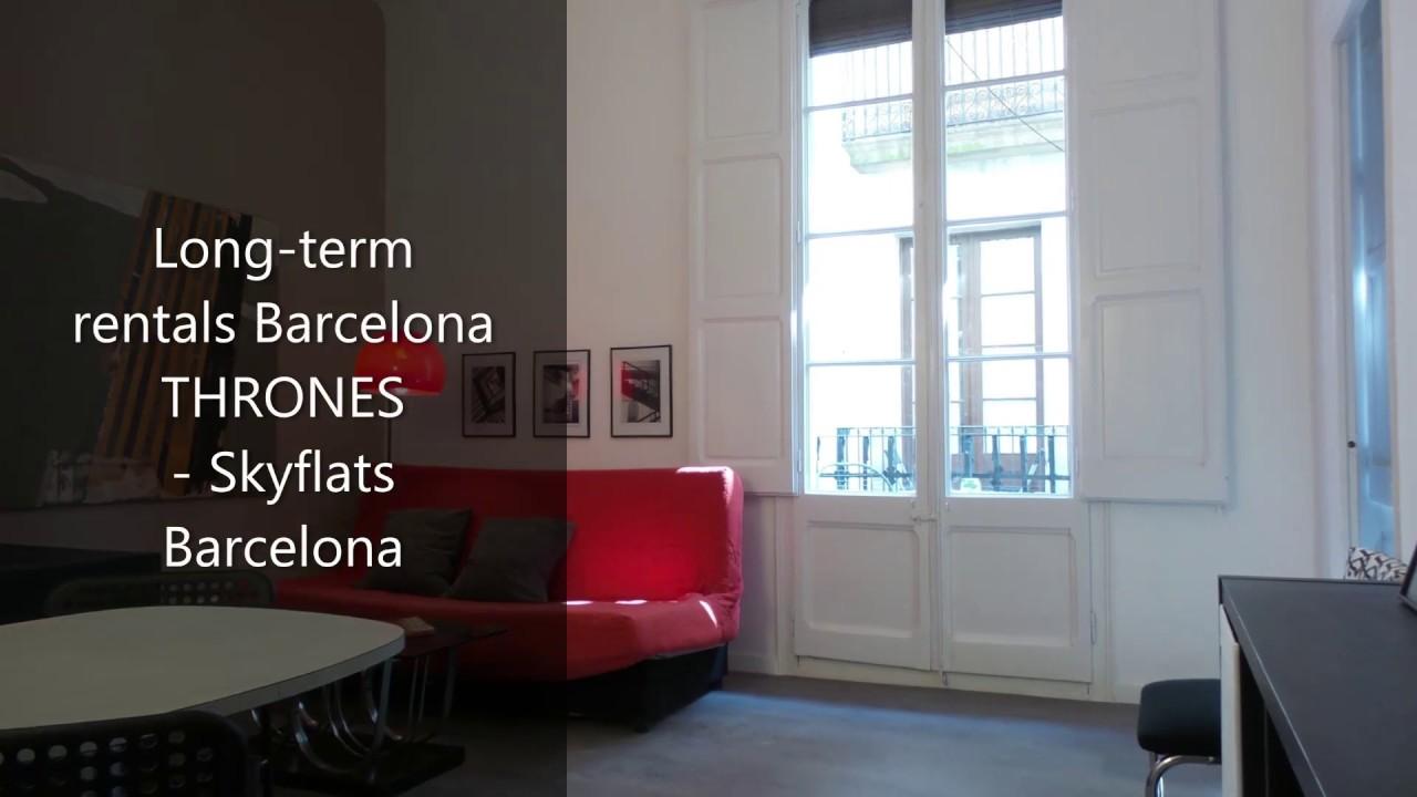 Long-term rentals Barcelona THRONES - Skyflats Barcelona ...