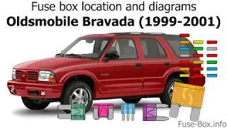 fuse box location and diagrams: oldsmobile bravada (1999-2001) - youtube  youtube