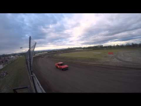 Mini Stock Main Event - Mitchell Raceway - 7/17/2015