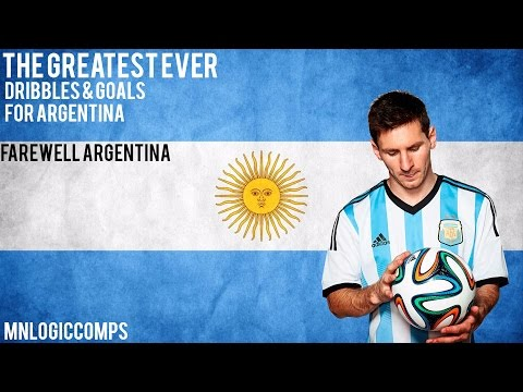 Lionel Messi - Goodbye Argentina - Dribbles & Goals