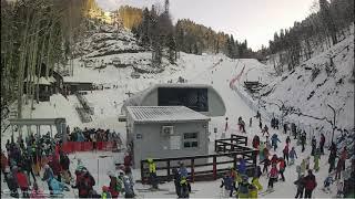 Праздничный ажиотаж на горнолыжных курортах Сочи