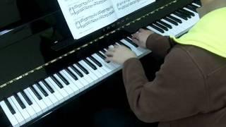 Bastien Piano Basics Level 4 Technic No.7 Canoes at Camp (P.7)