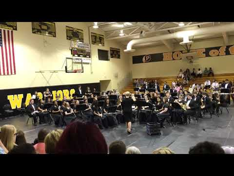Pontotoc junior high school symphonic band 2018