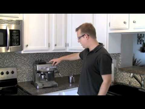 Breville Barista Express Espresso Machine Tour Youtube