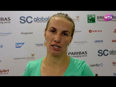My Performance   Svetlana Kuznetsova Defeats Agnieszka Radwanska    2016 WTA Finals