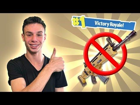 פורטנייט - אתגר בלי נשקים!!!