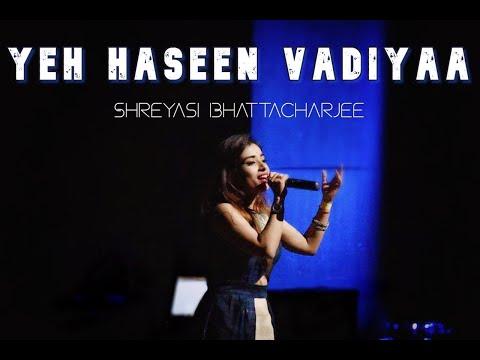Yeh haseen vadiyaa - S.P. Balasubrahmanyam and K.S. Chithra (Cover) by Shreyasi Bhattacharjee Mp3