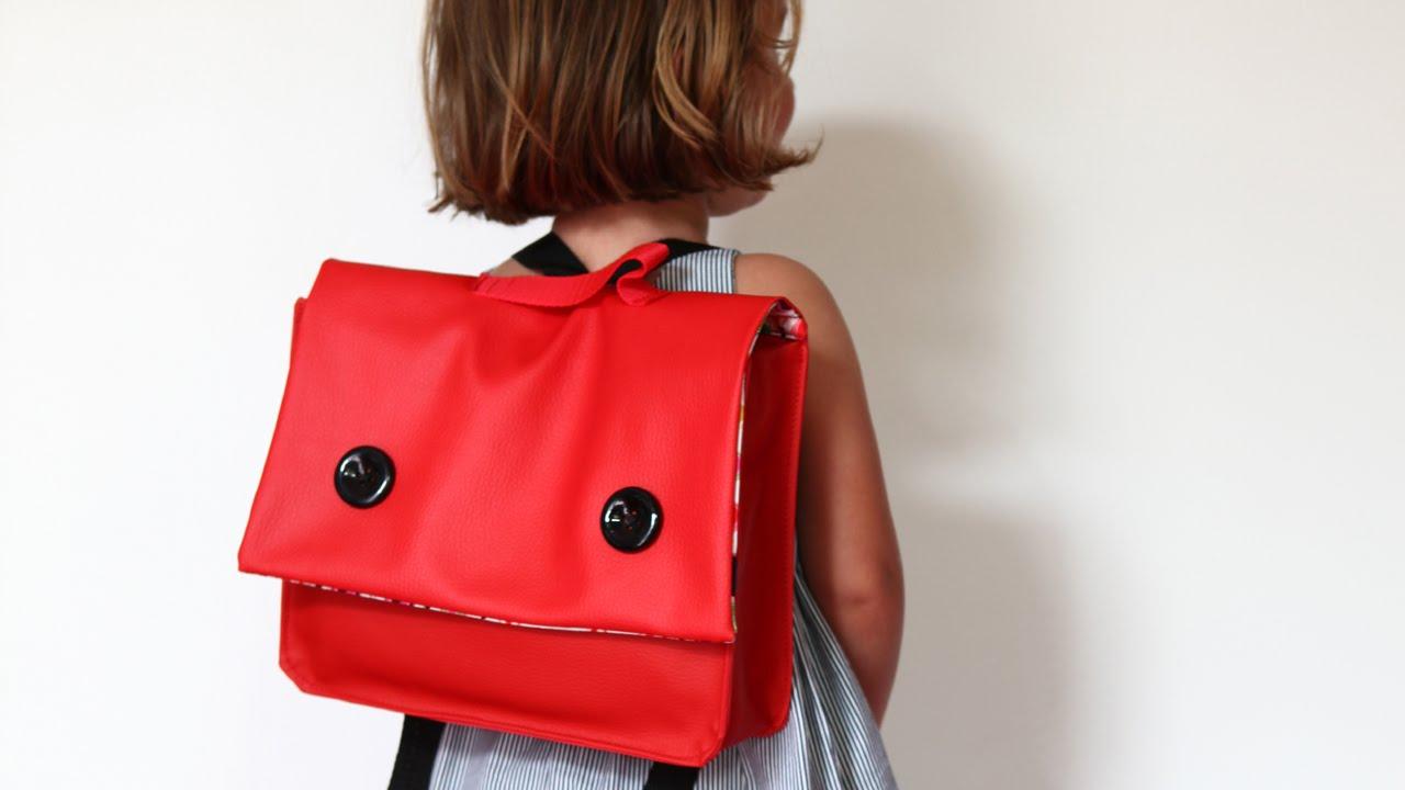 le dernier 63acb f2338 Cartable de maternelle rouge