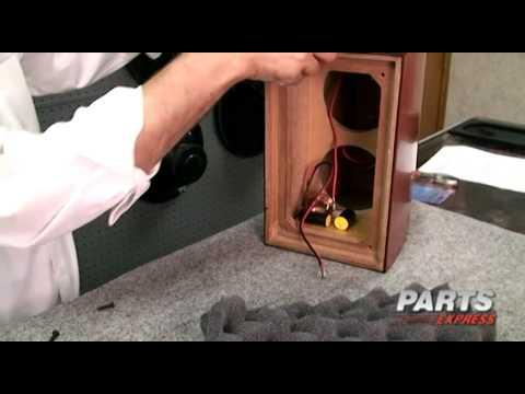 Dayton Audio RS621CK Speaker Kit Pair Cherry