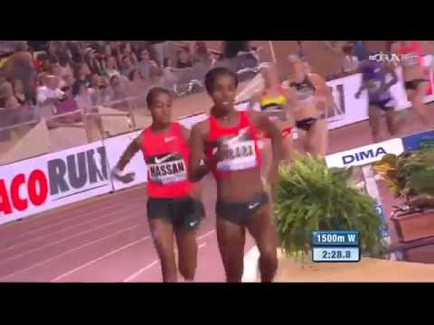 Original Genzebe Dibaba 1500m New World R