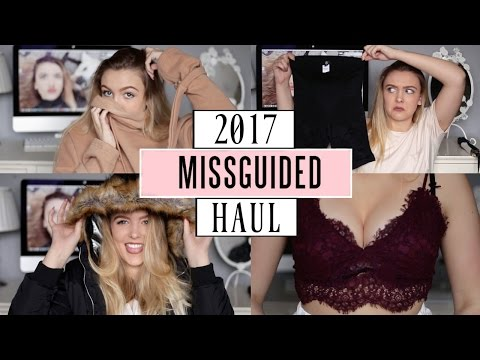 My Basic B*tch Missguided Try-On Clothing Haul 2017!