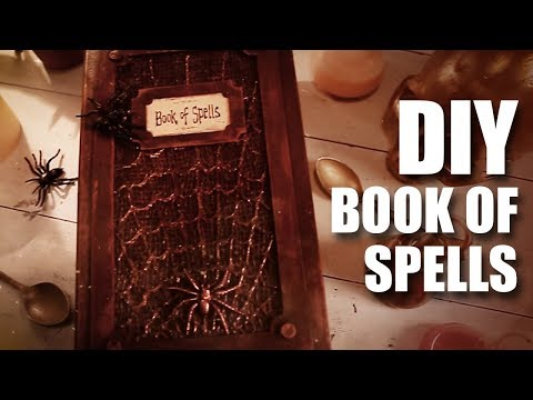 DIY Book Of Spells | Harry Potter |  MadstuffwithRob