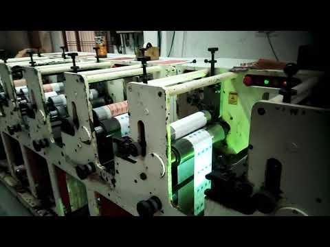 Eco flex machine printing press