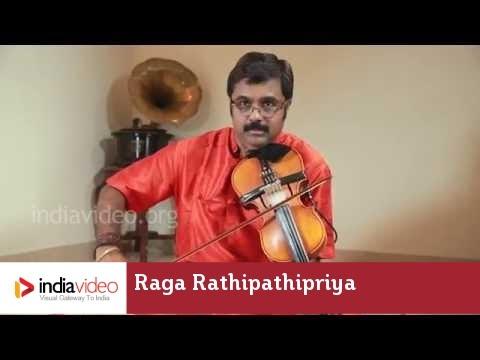 Raga Series - Raga Rathipathipriya on Violin by Jayadevan