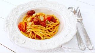 Паста Букатини с Колбасками / Bucatini Pasta with Sausage