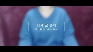 니가 참 좋아 (I Really Like You)_쥬얼리 (Jewelry) (Cover by 라벤더)
