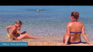 Beaches in Rovinj Istria Croatia 2017