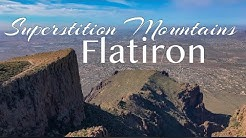 Superstition Mountains - Flatiron, Over looking Apache Junction, Arizona