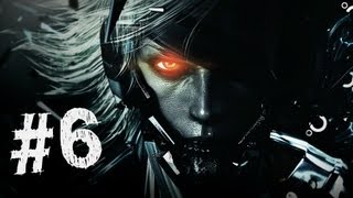 Metal Gear Rising Revengeance Gameplay Walkthrough Part 6 - Research Facility - Mission 3