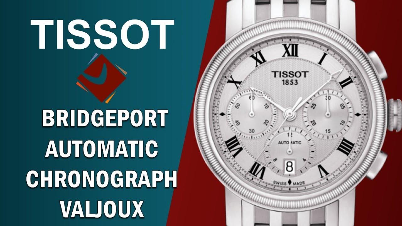 86e5252ac TISSOT BRIDGEPORT AUTOMATIC CHRONOGRAPH VALJOUX T097.427.11.033.00 ...