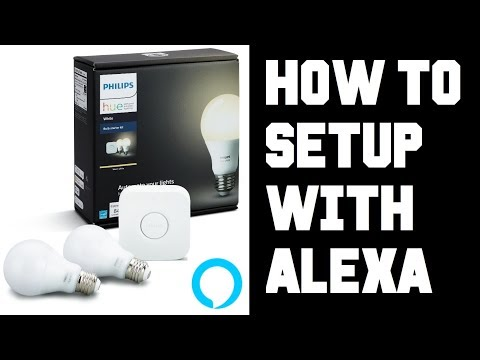How To Setup Philips Hue with Amazon Alexa Echo Dot Not Working Fix - Not Connecting Responding