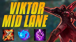 Viktor Mid Lane Guide - How To Carry - Step By Step
