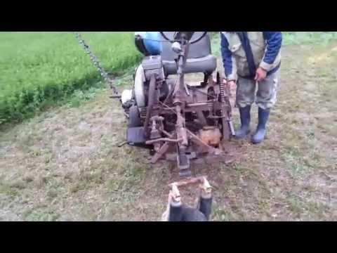 Сенокосилка своими руками видео