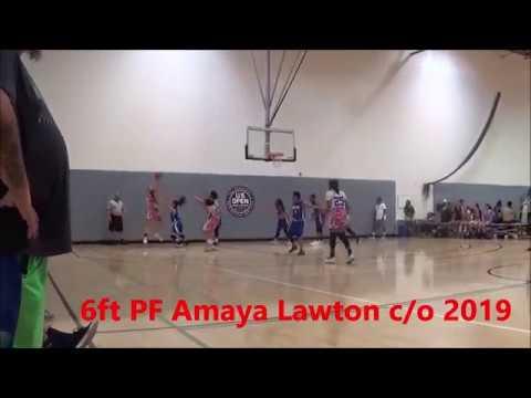 2019 PF 6ft Amaya Lawton