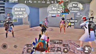 Meet up With Girls squad members in same lobby   My Squad members ask hot girl for instagram