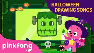 The Frankenstein | Halloween Drawing Songs | Pinkfong Songs for Children