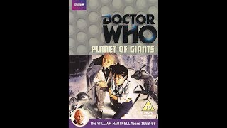 Doctor Who: Season 2, Serial 1- Planet Of Giants Review
