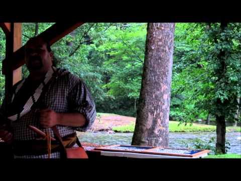 Native American Storyteller. Jon Toineeta. 2011-07-09