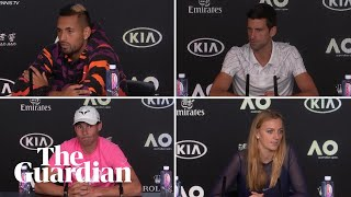 Australian Open: Players discuss air quality concerns before tournament